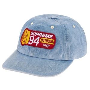 Supreme Shell Patch 6 Panel Hat